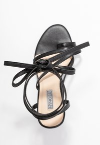 Nly by Nelly - ADORABLE STRAP BLOCK - High heeled sandals - black - 3