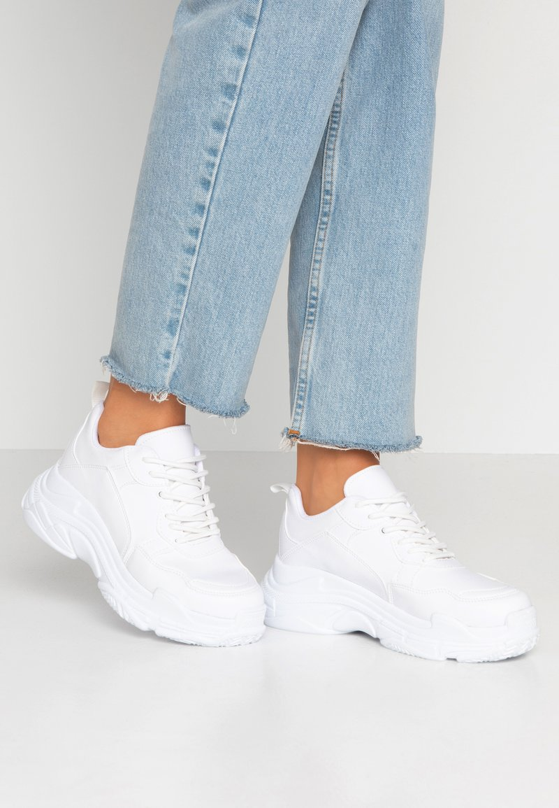 Nly by Nelly - PERFECT CHUNKY  - Sneaker low - white