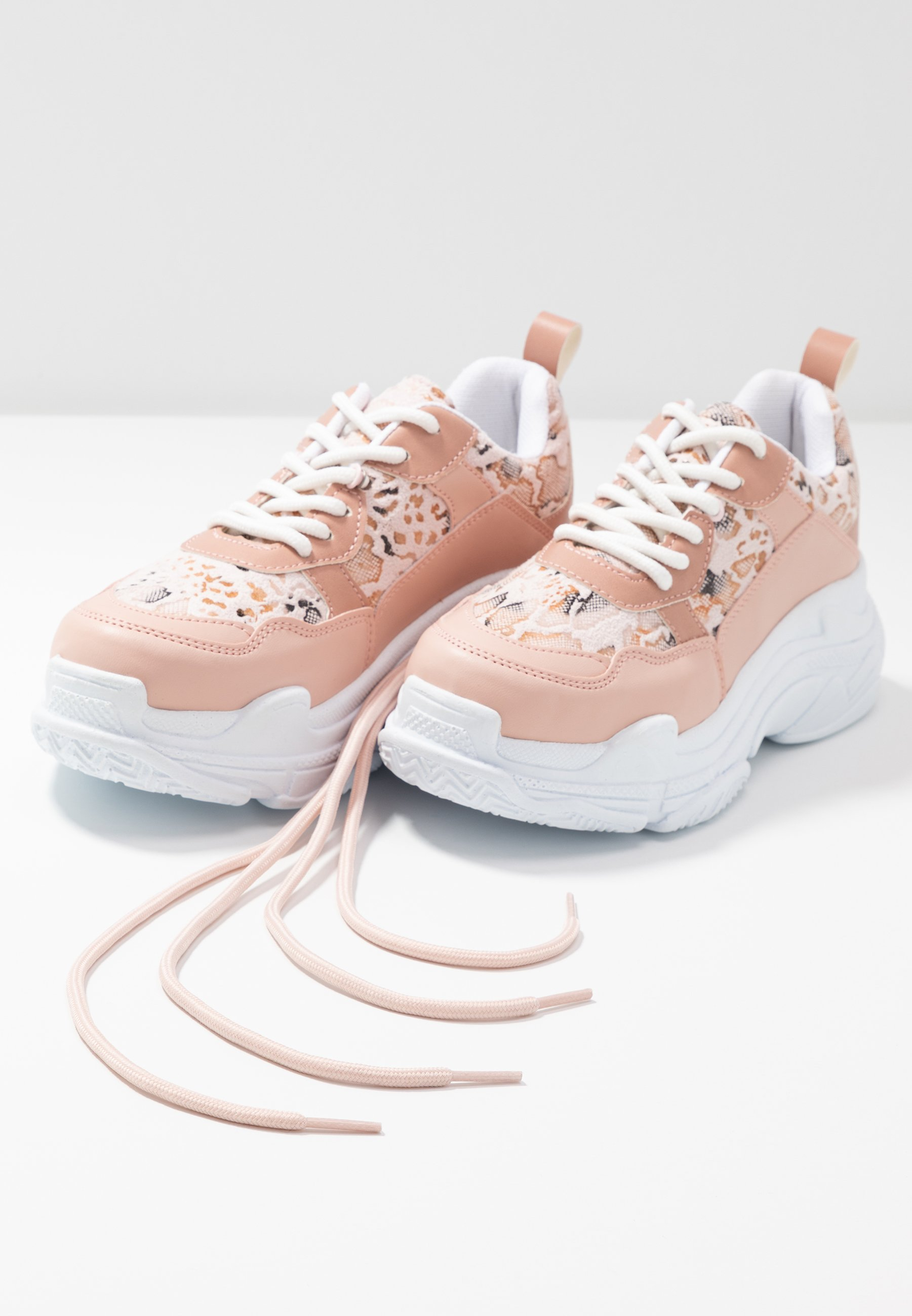 Nly By Nelly Perfect Chunky - Trainers Pink