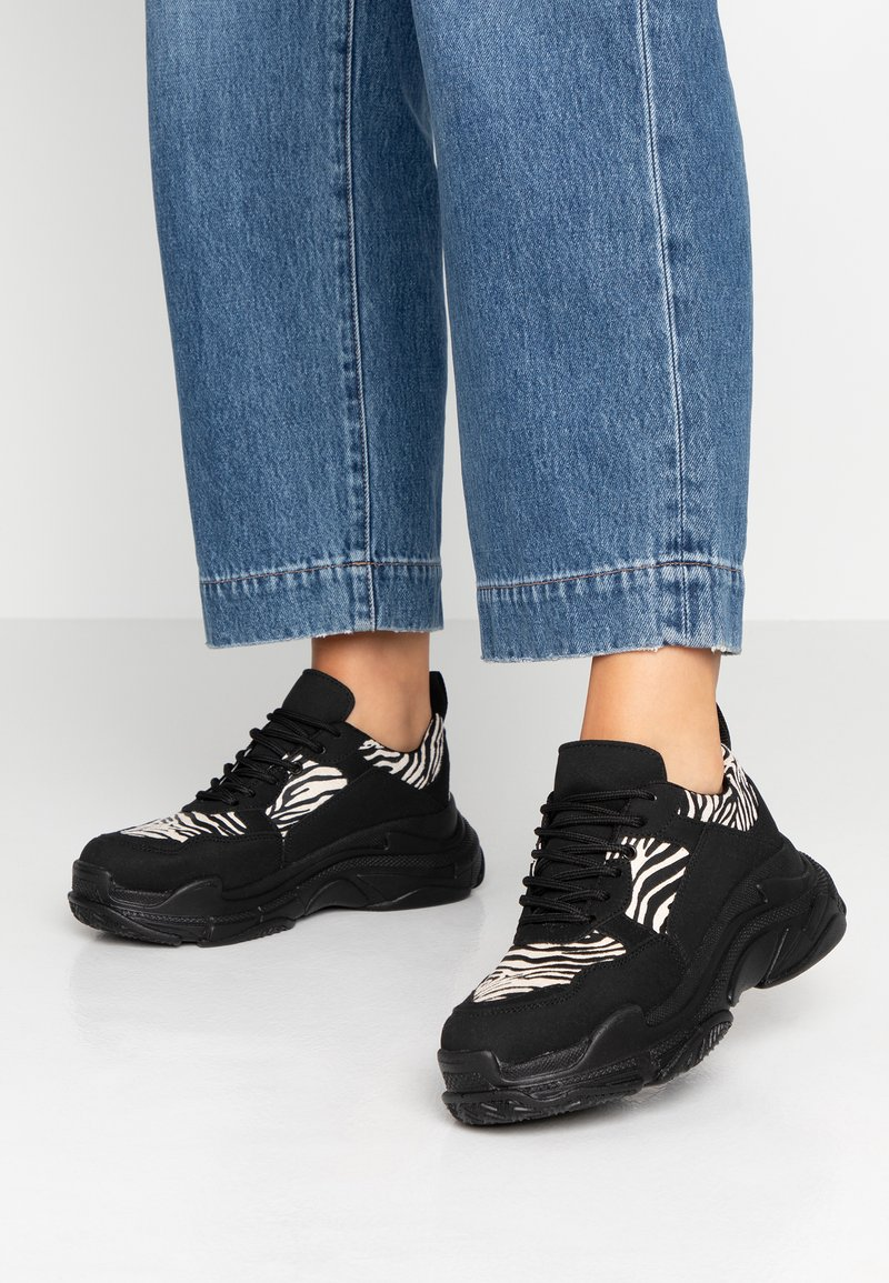 Nly by Nelly - PERFECT CHUNKY  - Trainers - black