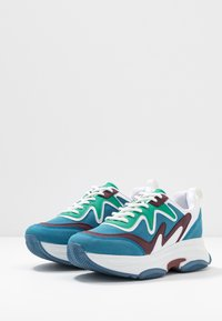 Nly by Nelly - BRILLIANT - Sneakers - blue/green - 4