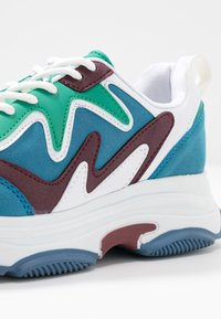 Nly by Nelly - BRILLIANT - Sneakers - blue/green - 2