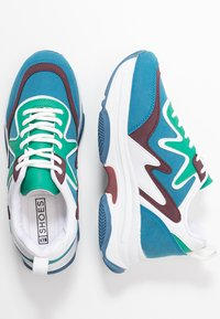 Nly by Nelly - BRILLIANT - Sneakers - blue/green - 3