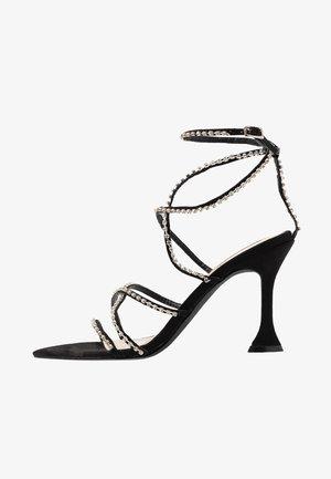 MAGIC NIGHT - High Heel Sandalette - black