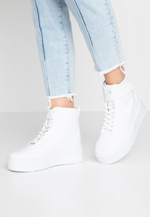 TOP - Sneaker high - white