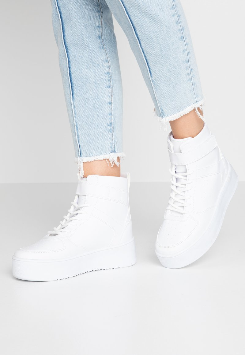 Nly by Nelly - TOP - Sneakers high - white