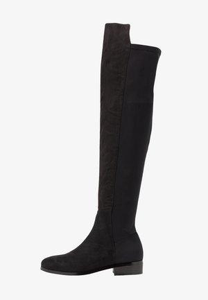 THIGH BOOT - Høye støvler - black