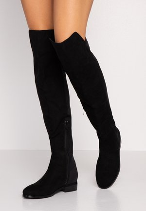 THIGH BOOT - Over-the-knee boots - black