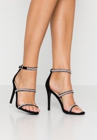 Nly by Nelly - TRIPLE JEWEL STRAP  - Sandaletter - black - 0