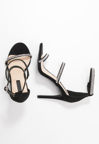 Nly by Nelly - TRIPLE JEWEL STRAP  - Sandaletter - black - 3