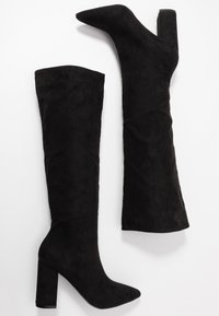 Nly by Nelly - WIDE KNEE HIGH BOOT - Boots - black - 3