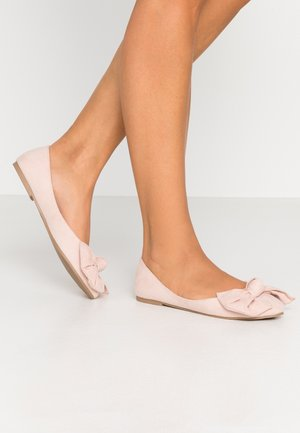 BOW  - Ballet pumps - dusty pink