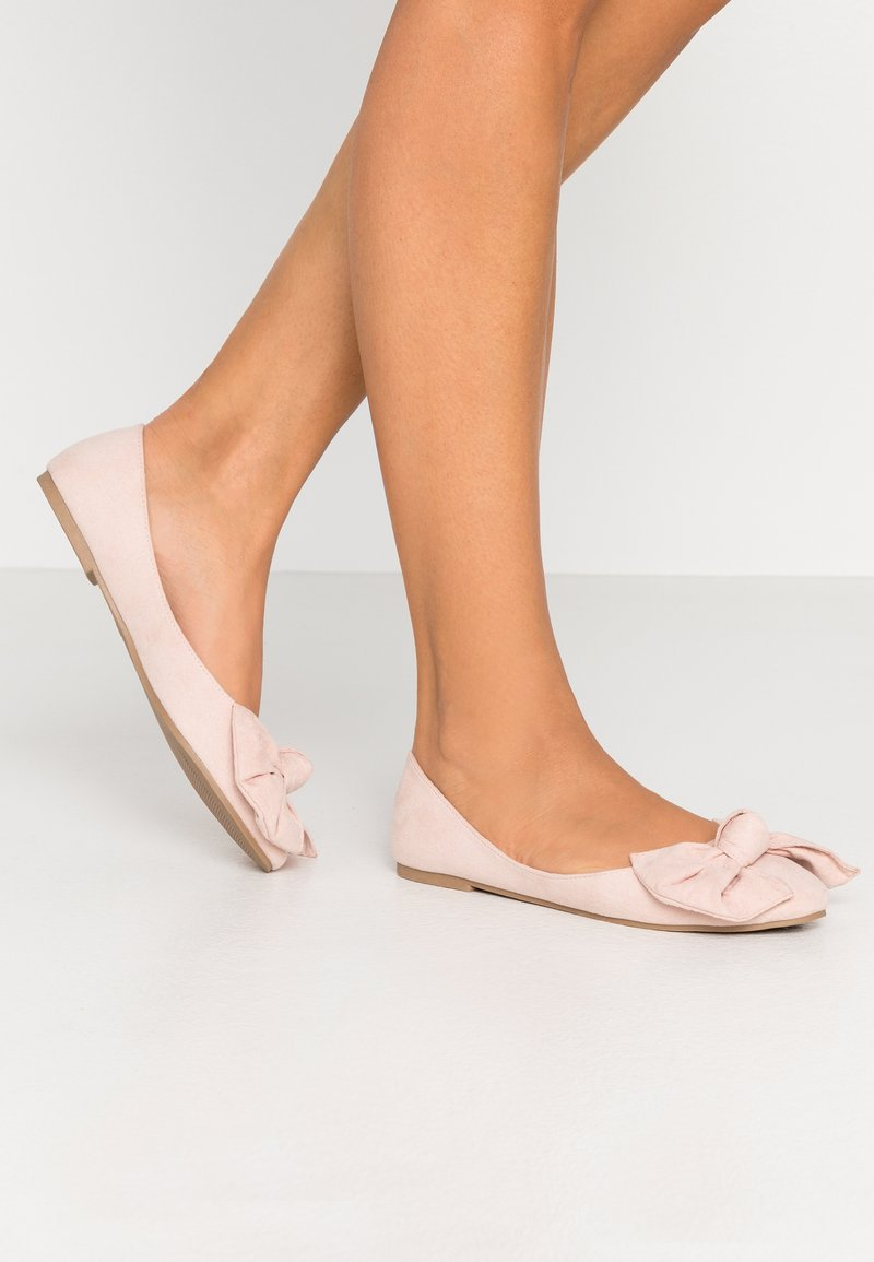 Nly by Nelly - BOW  - Ballet pumps - dusty pink