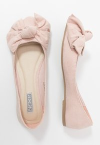 Nly by Nelly - BOW  - Ballet pumps - dusty pink - 3
