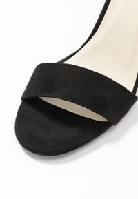 Nly by Nelly - BLOCK MID HEEL - Riemensandalette - black - 2