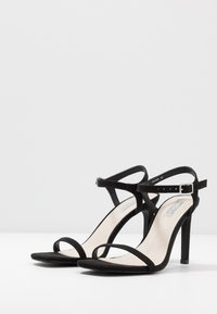 Nly by Nelly - SQUARE  - High heeled sandals - black - 4