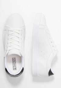 Nly by Nelly - Sneakersy niskie - white/black - 3