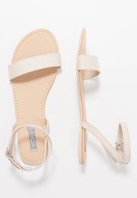 Nly by Nelly - PLAIN ANKLE STRAP  - Sandals - beige - 3