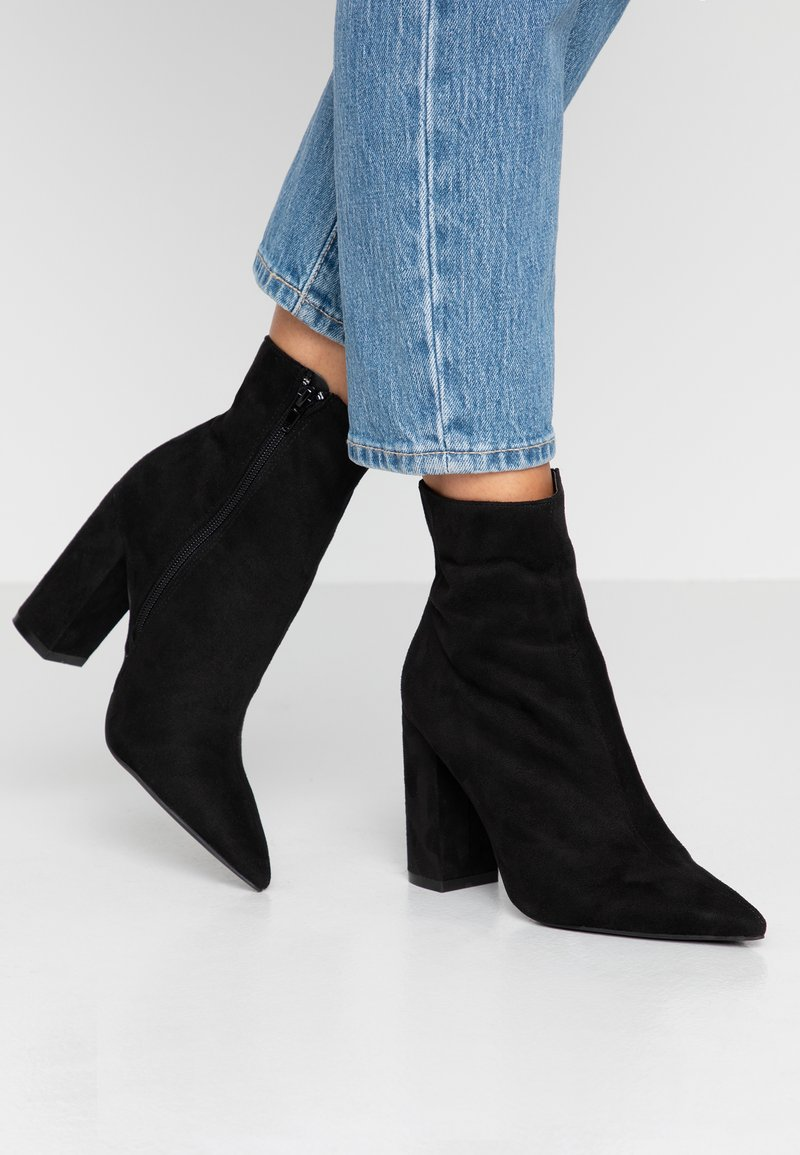 Nly by Nelly - SLIM BLOCK BOOT - Botines de tacón - black