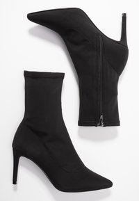 Nly by Nelly - STRETCHY STILETTO BOOT - Stivaletti - black - 3