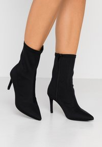 Nly by Nelly - STRETCHY STILETTO BOOT - Stivaletti - black - 0