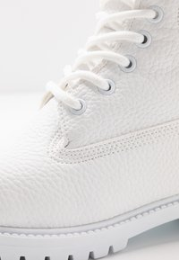Nly by Nelly - LACE BOOT - Botines con cordones - white - 2