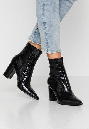 PERFECT POINTY BOOT - Støvletter - black