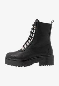 Nly by Nelly - CATCH'UP BOOT - Kotníkové boty na platformě - black - 1