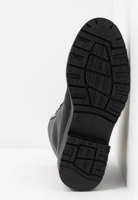 Nly by Nelly - CATCH'UP BOOT - Kotníkové boty na platformě - black - 6