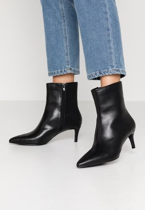 POINTY STILETTO BOOT - Korte laarzen - black