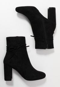 Nly by Nelly - STRAP DETAIL BOOT - High heeled ankle boots - black - 2