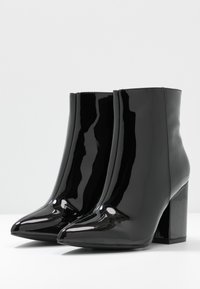 Nly by Nelly - BLOCK  - High heeled ankle boots - black - 4