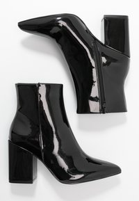 Nly by Nelly - BLOCK  - High heeled ankle boots - black - 3