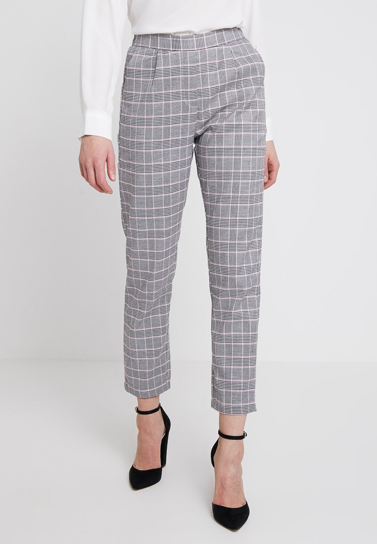 Nly by Nelly - THE IT  - Stoffhose - pink check