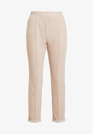 DRESSED TAILORED PANTS - Kalhoty - mushroom