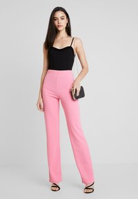 Nly by Nelly - STRAIGHT PANT - Trousers - pink - 2