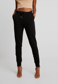 Nly by Nelly - PERFECT - Pantalones deportivos - black - 0