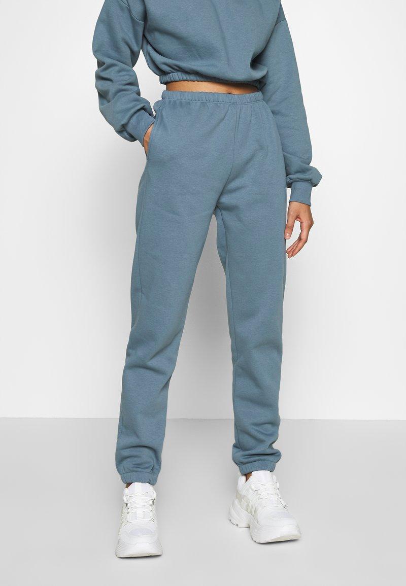 Nly by Nelly - COZY PANTS - Pantaloni sportivi - blue