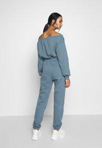 Nly by Nelly - COZY PANTS - Pantaloni sportivi - blue - 2