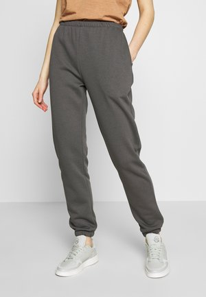 COZY PANTS - Pantaloni sportivi - off black