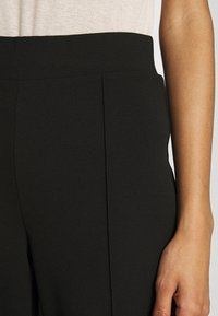 Nly by Nelly - DETAILED WIDE PANTS - Pantaloni - black - 4