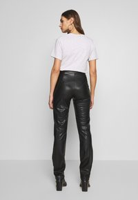 Nly by Nelly - TAILORED PANTS - Bukse - black - 2