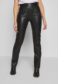 Nly by Nelly - TAILORED PANTS - Bukse - black - 0