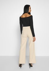 Nly by Nelly - TAILORED BELT PANTS - Kalhoty - beige - 2
