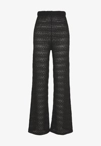 Nly by Nelly - BREATHTAKING WIDE PANTS - Pantalones - black - 2