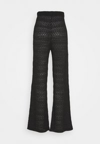 Nly by Nelly - BREATHTAKING WIDE PANTS - Pantalones - black - 1