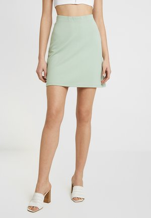 MY PERFECT SKIRT - A-linjainen hame - light green