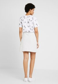 Nly by Nelly - COZY SKIRT - A-line skirt - greymélange - 2