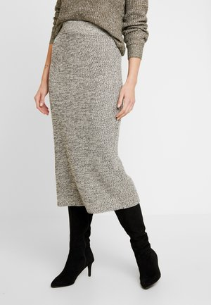 LONG SKIRT - Bleistiftrock - light grey