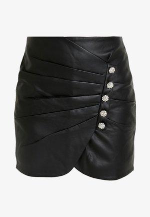 SKIRT - Miniskjørt - black